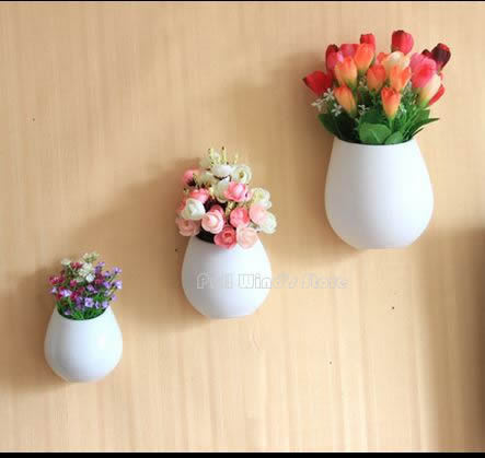 Creative Ceramic Wall Pots Simple Home Decoration Flowerpot Countryside Greening Your Life In Flower Planters From Garden On