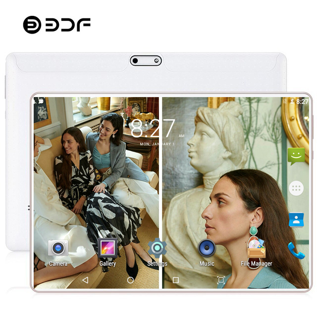 2020 New 10 Inch 4G LTE Tablet Pc Ten Core 8GB RAM 128GB ROM 1280*800 IPS Tempered Glass Android 9.0 Mobile Phone Tablets 10.1