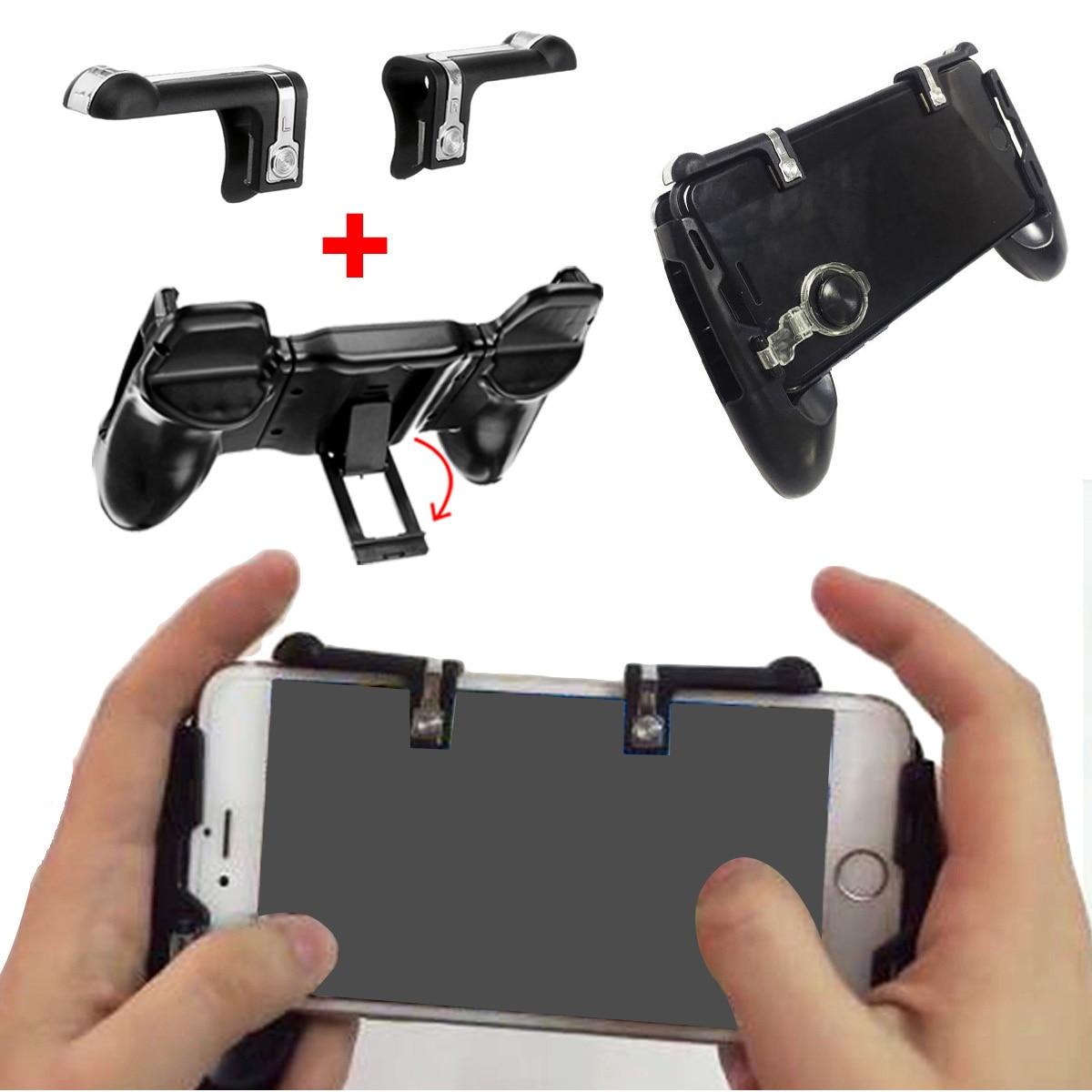 Mobile Phone Gaming Trigger Game Smartphone Shooter Controller Gamepad Joystick Handle Bracket Holder For PUBG for Fortnite