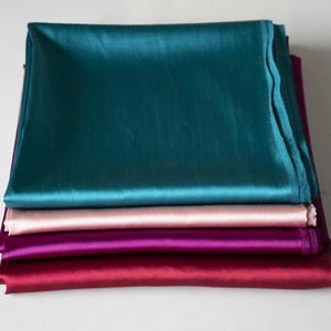 China Silkworm Silkcrepe satin plain Stretch Satin Wide Heavy Silk plain coloured Summer High-end Garment Fabric