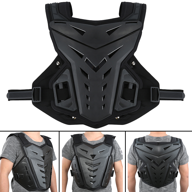 5 Colors Motorcycles Motocross Chest Back Protector Armour Vest Racing Protective Body Guard MX armor ATV