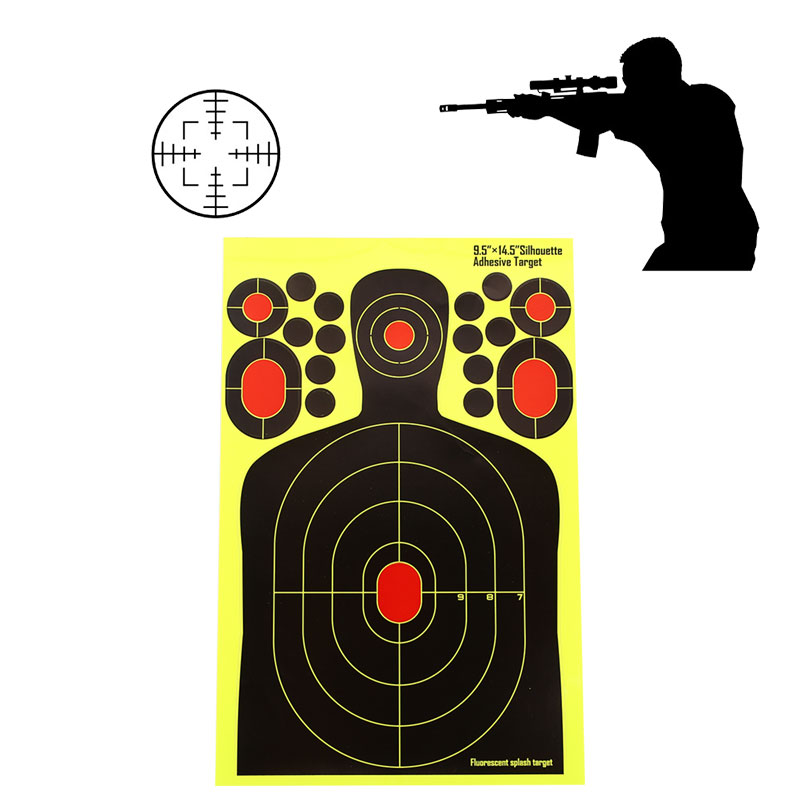 Target Stickers Training Paper Target Shooting Target Economic Yellow Paper Archery Practice Hunter