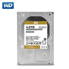 Batı dijital altın NAS sabit disk 4TB kurumsal sabit sürücü ağ depolama 3.5 7200 RPM SATA3 HDD 6 Gb/s