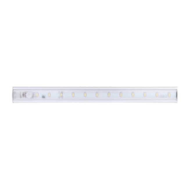 Nflc-diodo emissor de luz sob o armário luz pir motion sensor lâmpada cozinha roupeiro armário armário 30 cm