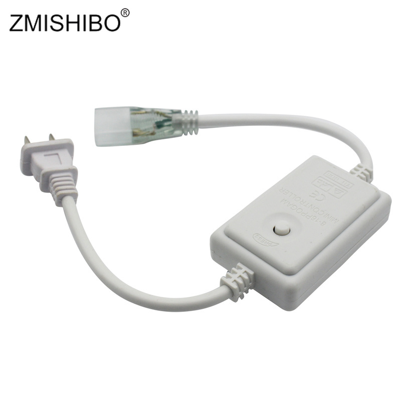 Zmishibo Led Strip Controller 8-modes Control 220v/230v/240v Monochrome Strip 50m 5050/5730 Strip Or 100m 3528 Strip Controller Top Watermelons Lights & Lighting Rgb Controlers