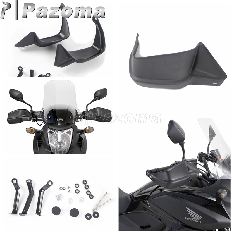 Motorcycle Black ABS Plastic Hand Guard Protectors For Honda NC700 X 12 13 NC750 X 14