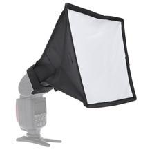 Universal 20 x 30cm Photo Flash softbox Speedlite Foldable Diffuser Softbox Soft box For Canon 580EX 430EX Nikon Yong Nuo Godox