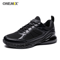 Plus EU47 Men's Running Shoes Onemix Sport Sneakers Outdoor Walking Athletic Shoes Breathable Black Jogging Trail Gym shoes