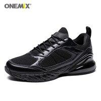 Plus EU47 Men's Running Shoes Onemix Sport Sneakers Outdoor Walking Athletic Shoes Breathable Black Jogging Trail Gym shoes