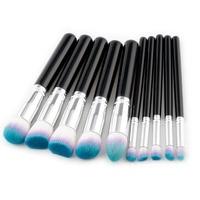 MSQ 10pcs Professional Makeup Brush Set Beauty Tools Blush Brush Foundation Brush Cosmetics Brushes