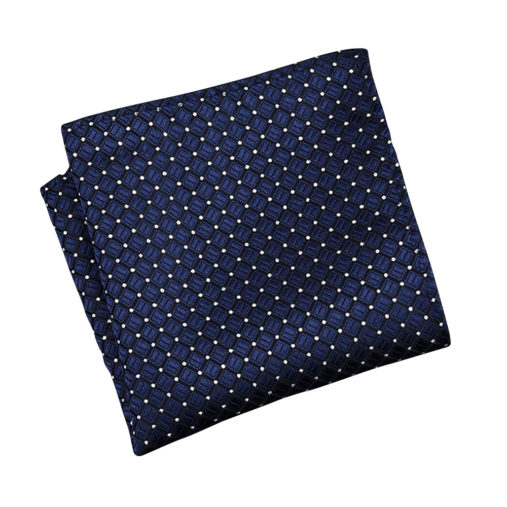 Men'S Business Suit Pocket Towel England Square Towel Wedding Groom'S Chest Towel Grade Polyester