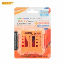 цены JAKEMY JM-X2 Magnetizer Demagnetizer Tool Orange ABS plastic Screwdriver Magnetic Pick Up Hand Tools Screwdrivers Magnet Reducer