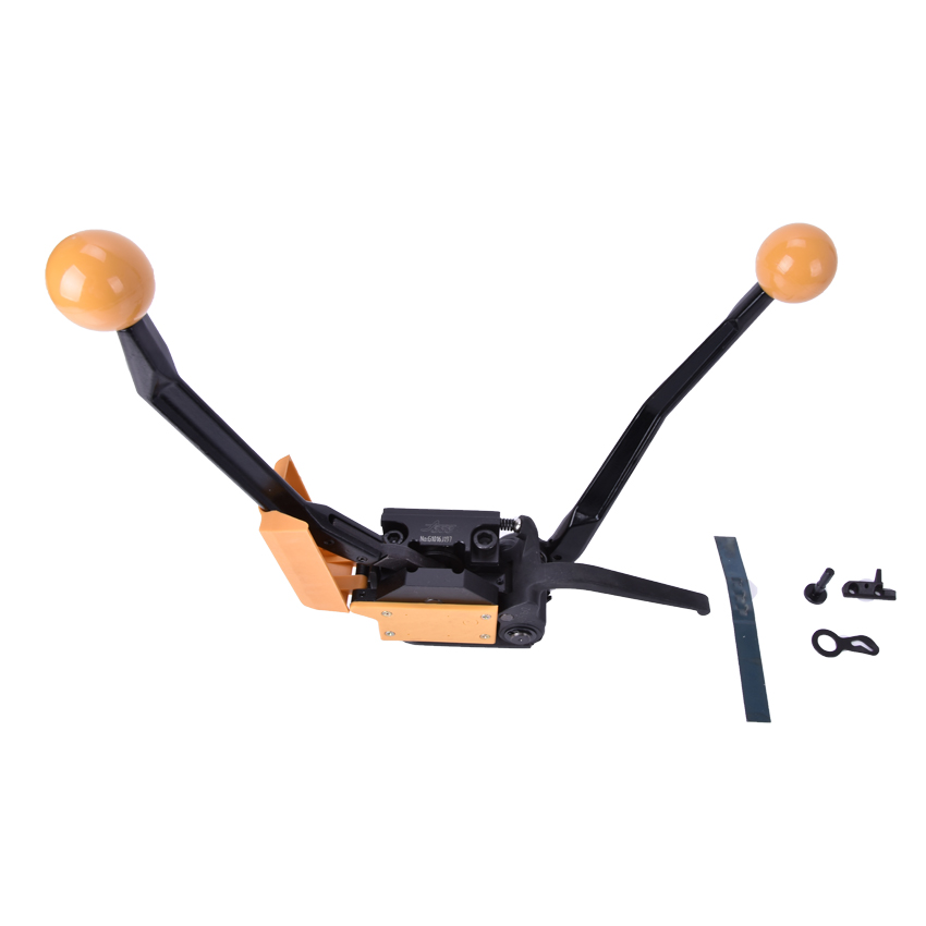 1 pces manual de aço ferramenta de cintar a333 handheld equipamento de embalagem portátil empacotador