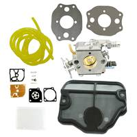 Carburetor Fuel Line Repair Kit Air Filter Fit Husqvarna 136 137
