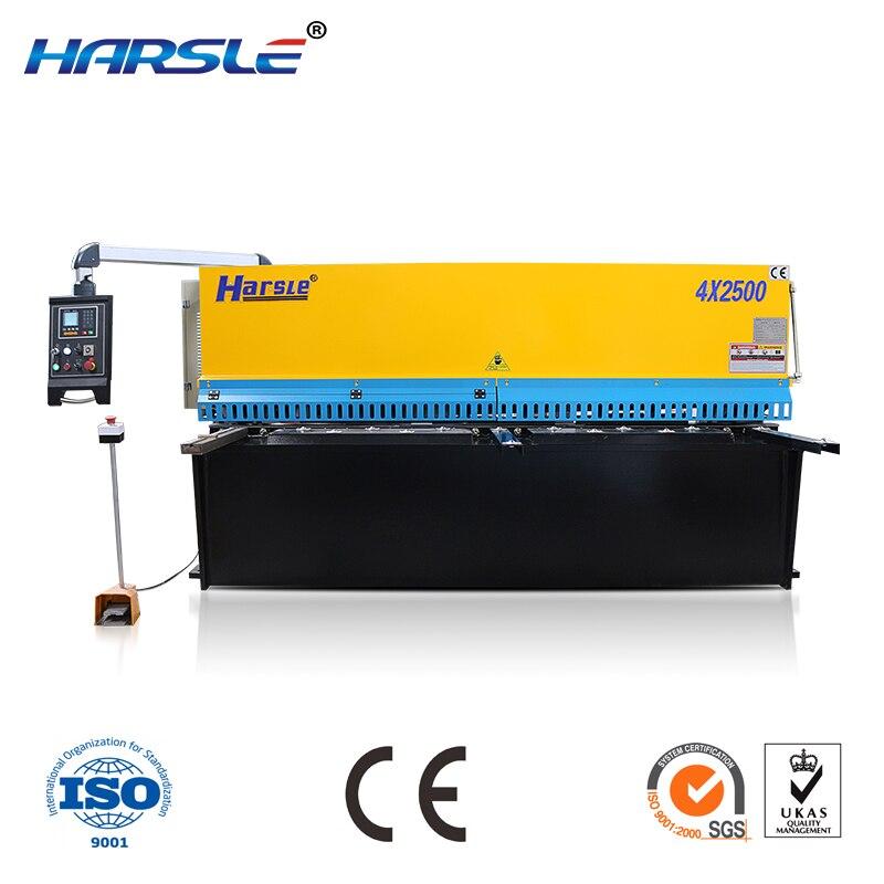 QC12K CNC sheet cutting machine steel shearing machine-in