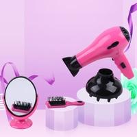 Zhorya 4PCS/Set Beauty&Hair Children Princess Makeup Toys Girls Pretend Play Cosmetics Kit Best Gifts for Girls Children