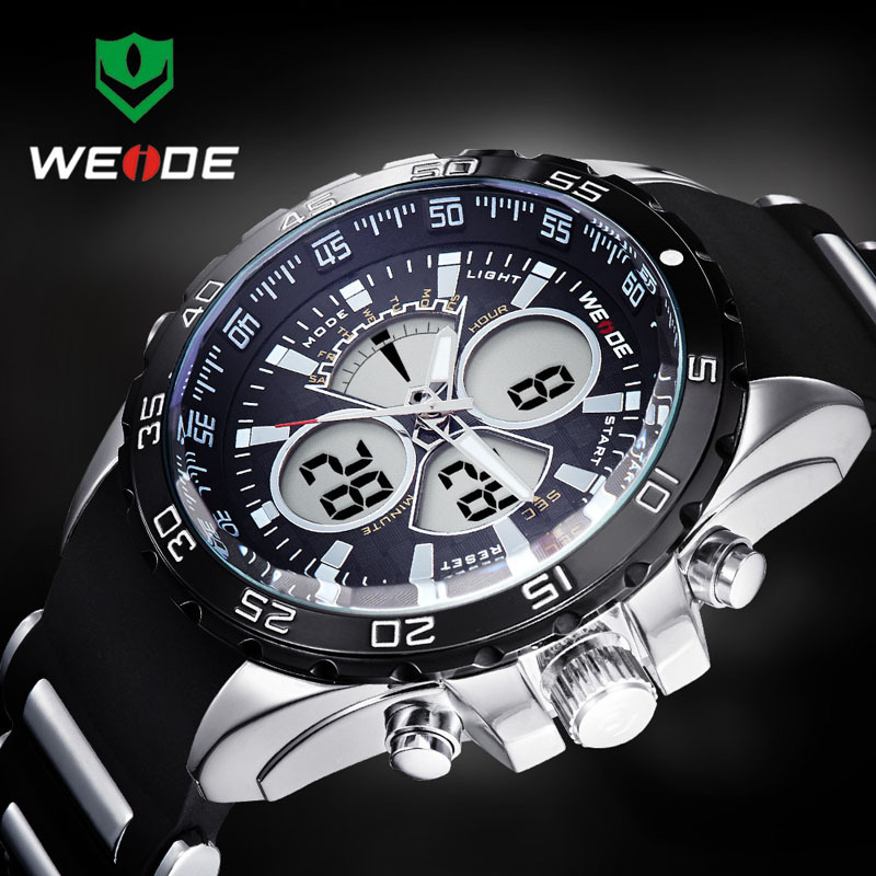 2018 New WEIDE Led Digital Quartz Watch 1