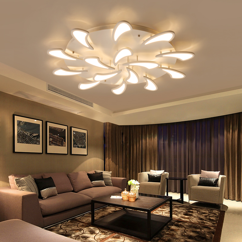 led Ceiling light Living room lamp atmosphere modern European and American style LED ceiling lamp study bedroom led light free shipping led european style ceiling light 10w 220v anti glare led meeting room offices hotels homelighting