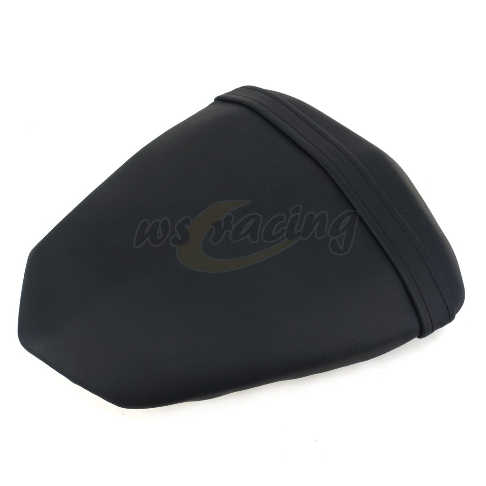 Motorcycle Seat Leather Passenger Rear Seat Pillon Cover For YAMAHA YZF R1 YZF-R1 2009-2014 2009 2010 2011 2012 2013 2014
