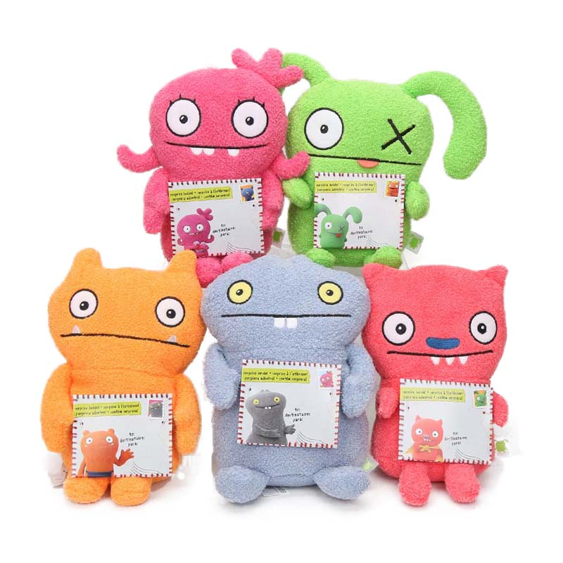 20cm Ugly Dolls Toys Little Ox Gorgeous Pancake Jeero Plush Doll Fairy Moxy Lucky Bat Ice-Bat Soft Stuffed Animal Toy Uglydolls