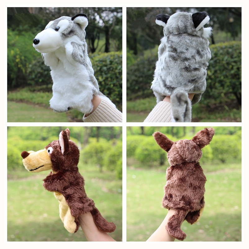 Animal-Plush-Hand-Puppet-Doll-Toys-Pig-Cat-Owl-Monkey-Dog-Rabbit-Shark-Bear-Puppet-Kids-Soft-Kukla-Toys-Marionnette-1