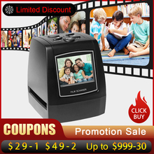 Ygctfnp MINI 5MP 35mm Scanner Negative Photo film Converts USB Cable LCD Slide 2.4""