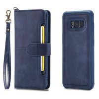 Luxus Buch Leder Telefon Fall Für Samsung S8 S9 Plus Fall Karte Halter Wallet Magnetic Für Samsung Galaxy S9 s8 Flip Fällen
