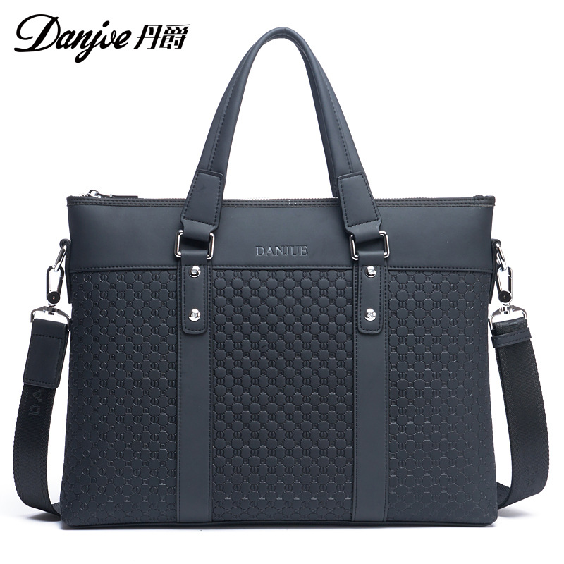 DANJUE High Quality Brand Fashion Shoulder Bag Genuine Leather Men Handbag Business Natural Leather Briefcases st luce светильник настенно потолочный st luce ovale sl546 501 01