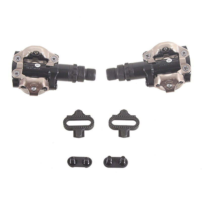 SHIMANO PD M520 Clipless SPD Pedals Bicycle MTB Racing Mountain Bike self-locking Pedals shimano pd m540 clipless spd pedals mtb bicycle part black