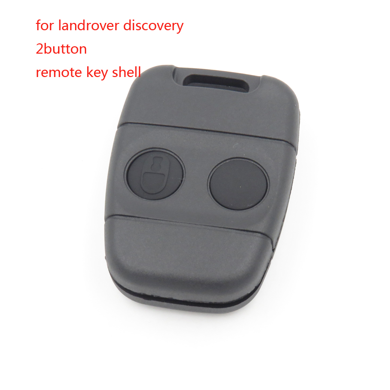 Cocolockey Replacement Shell for Land Rover Discovery 1 Defender Freelander 2 Button Key Fob Remote Case No Logo
