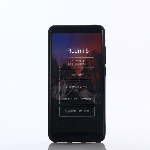 Чехол-накладка soft touch INOI для смартфона Xiaomi Redmi 5, TPU