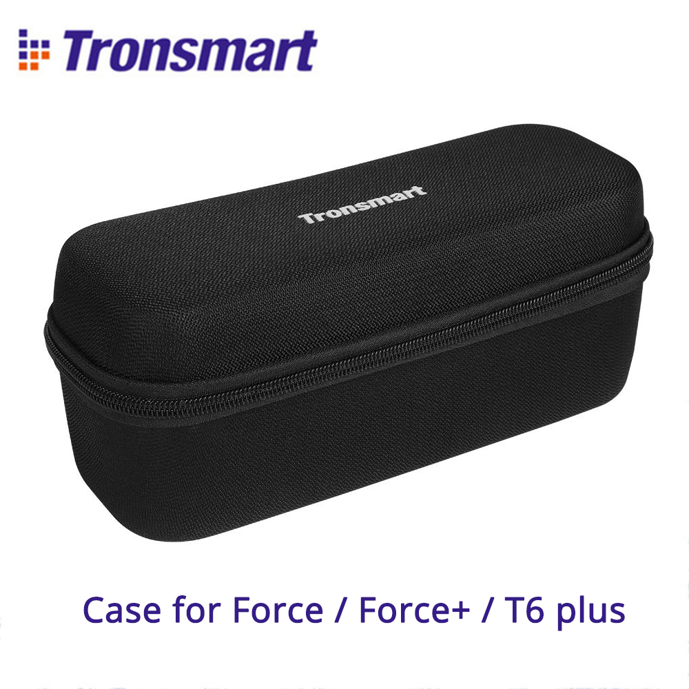 Original Tronsmart Force Carrying Case Portable Speaker Travel Bag Cover For Tronsmart Force, Force+, T6 Plus Bluetooth Speakers