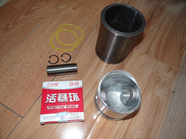 CT1130 cylinder liner piston package with six parts changchai 4l68 engine parts the set of piston piston rings piston pins