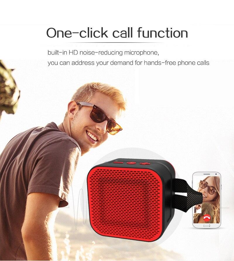Gute 2019 extérieur étanche Bluetooth haut-parleur mode radio FM TF carte téléphone PC puissant portable sans fil haut-parleur mini xtr tod - 4