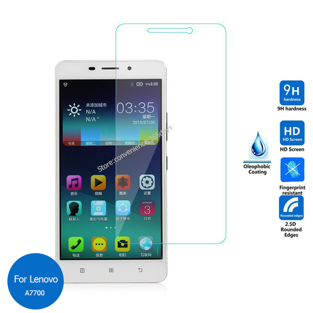 Front Tempered Glass Screen Protector For Lenovo A7700 25 9h Safety Protective On A 7700