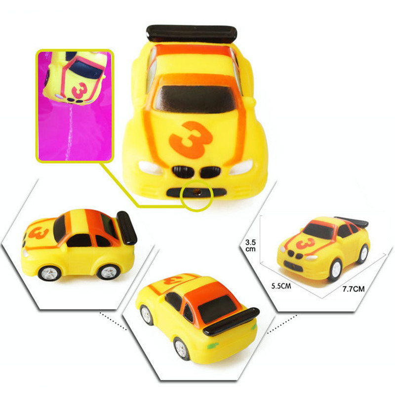 Styles Baby Shower Bath Toys Squeeze Sounding Floating Rubber ...