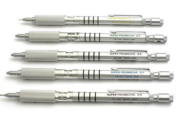 Japonia OHTO Super Promecha ołówek mechaniczny PM 1500P profesjonalna grafika ołówek mechaniczny aluminium i magnezu Alloy1PCS w Ołówki automatyczne od Artykuły biurowe i szkolne na  Grupa 1