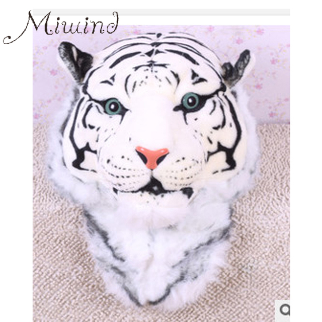 2016 Nueva ENORME Lujo Enfriar la Cabeza Del Tigre Tigre Blanco Cabeza Chica Estilo de Lujo de la moda Bolso de Las Mujeres Mochila Mochila Tiger Boy Bolsas BG324