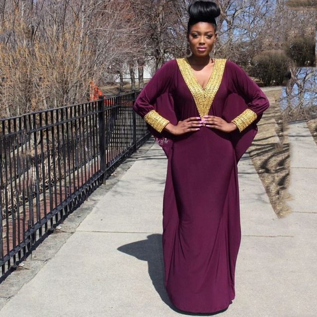 Latest African Fashion Evening Dress Gold Sequined Nigerian Style Women Outfit Kitenge Ankara