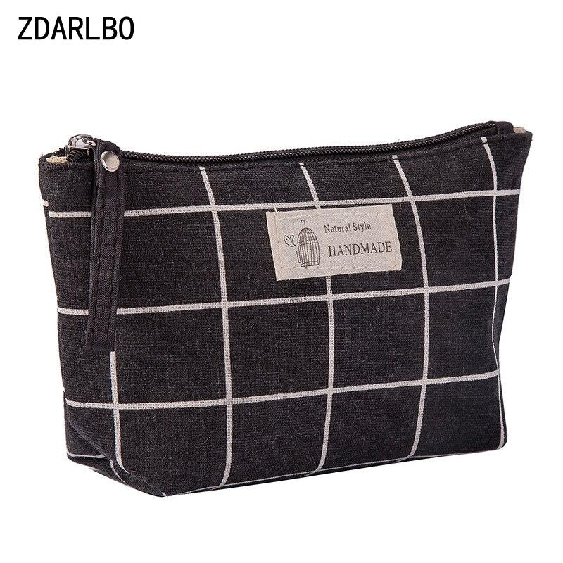 ZDARLBONew Fashion Women's Cosmetic Bag Men's Travel Toiletries Bags Organizer Makeup Bag Multi-function Digital Storage Bags
