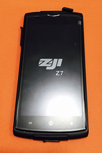 Utilisé Original écran tactile + écran LCD + cadre pour HOMTOM ZOJI Z7 MTK6737 Quad Core 5.0 pouces livraison gratuite