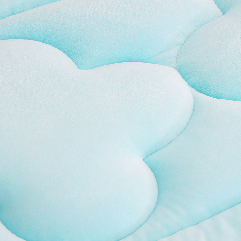 Double Sided Baby Nursing Blanket Sheet Crystal Velvet Newborn baby Comfortable Soft Mattress Bed Sheet Changing Pads All Season