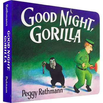 Educational Children CardBoard English Picture Book Baby Good Night, Gorilla/ Coloring Story Books English Language