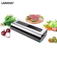 LAIMENG Automatic Vacuum Sealing Sealer Machine Packages For Packing Food Saver Plus Starter Kit Storage Vacuum