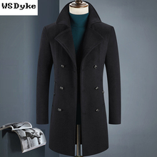 Double Breasted Pea Coat Men Reviews - Online Shopping Double ...