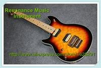 Специально для левой Suneye EVH гитары Вольфганг Винтаж Sunburst отделка Золотой Аппаратные средства в наличии