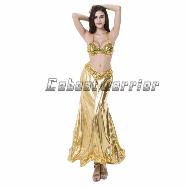ee5a48e04817 Little Mermaid princess Ariel cosplay costume Mermaid tail sexy yellow dress  with Bra