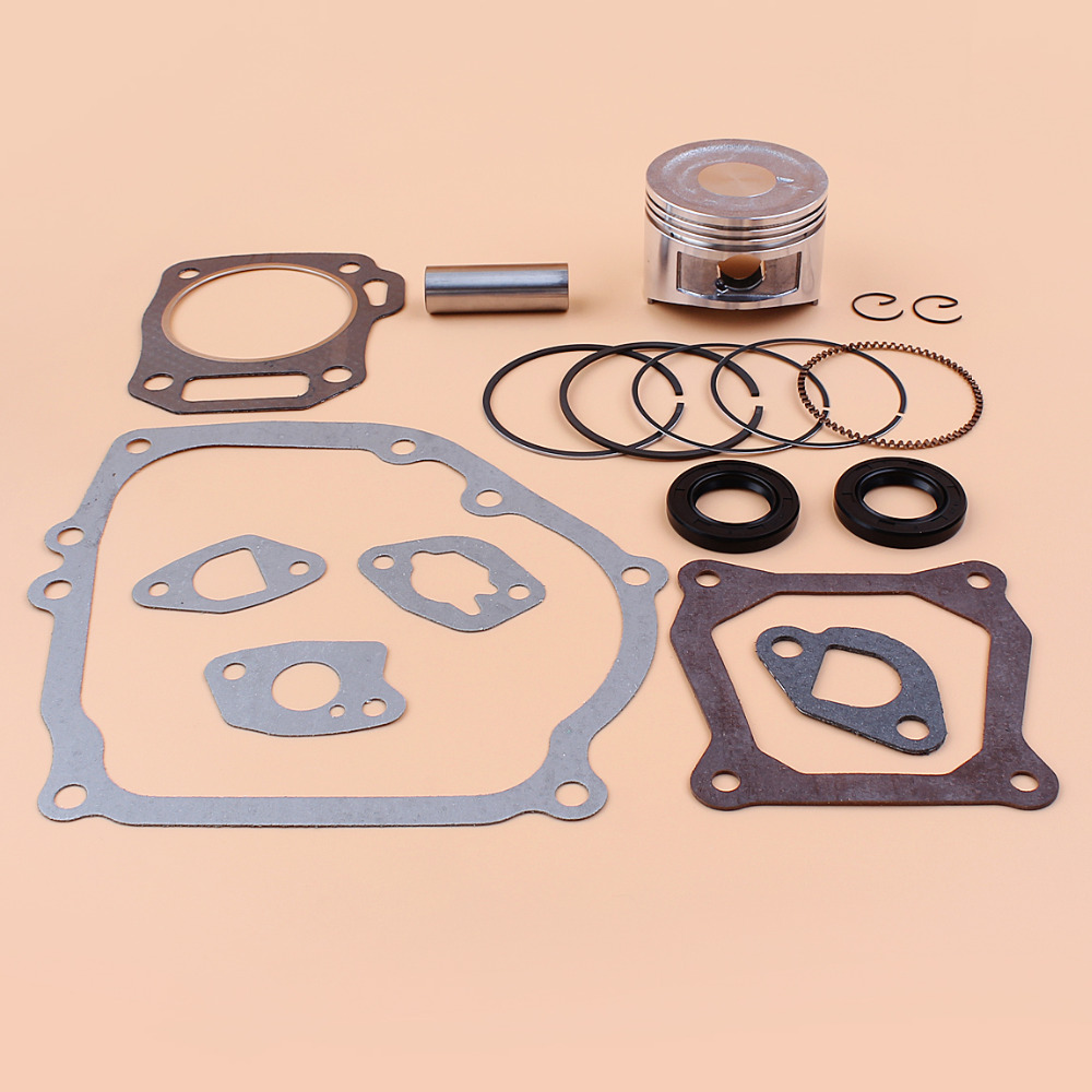 68mm Piston Rings Gasket Oil Seal Rebuild Kit For Honda GX160 GX200 168F 5.5/6.5HP 2-3.5kw Gasoline Generator Trimmer Engine