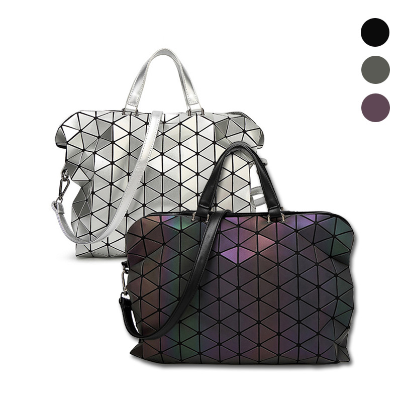 2016 Woman Bao Bao Bag Plaid Tote Bags Handbagss