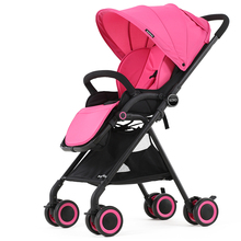 Vovo high landscape pushchair  baby stroller light umbrella car summer baby cart can sit can lie sleeping